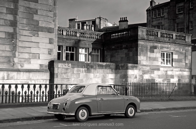 Scotland Glasgow Classic Car