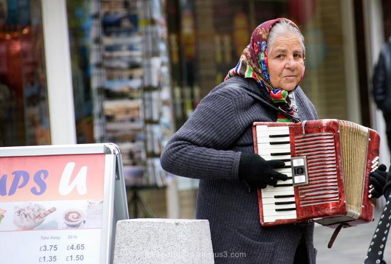 Glasgow Street Artist