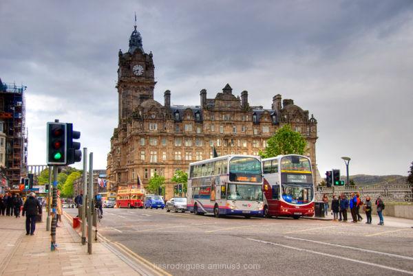 Edinburgh's princes street