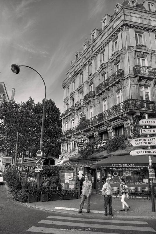 Paris France Street Nation Republique