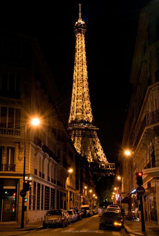 Eiffel Tower Paris Champ de Mars