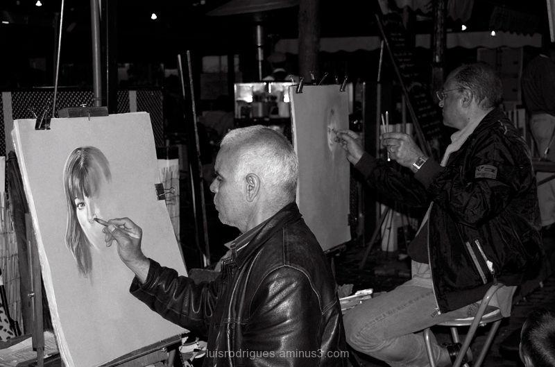 montmartre paris artist