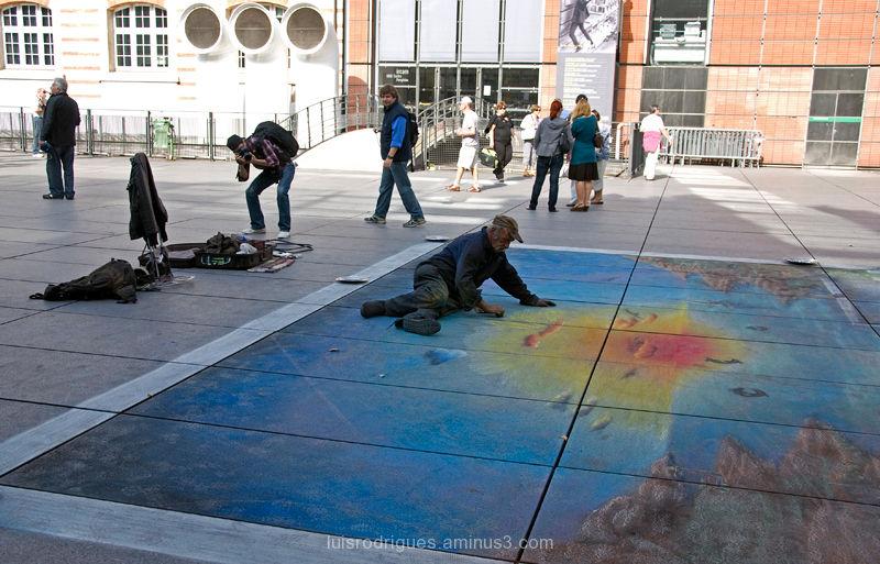Street Artist Paris France
