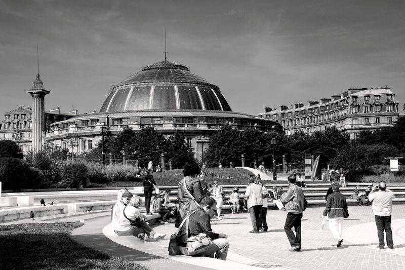 Paris France Les Halles