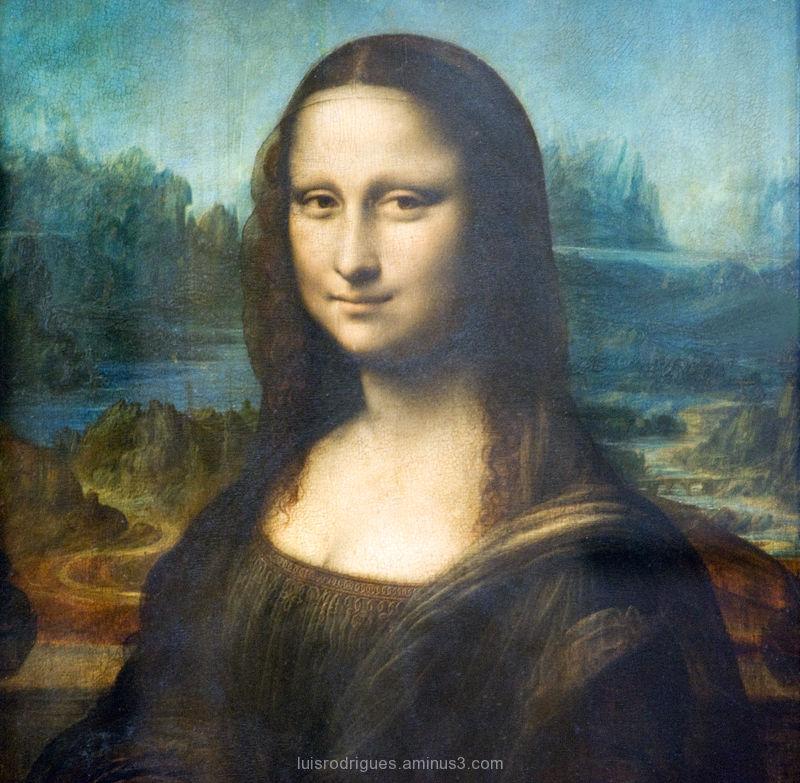 Mona Lisa Louvre Paris