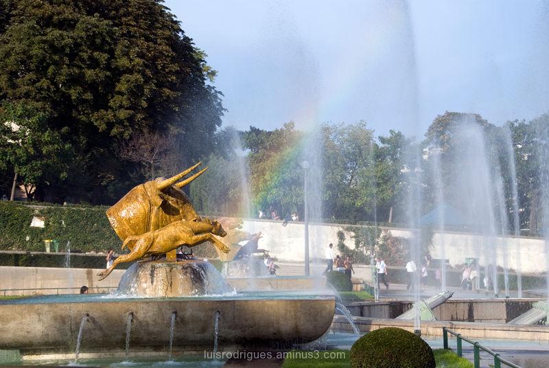 Paris France Rainbow