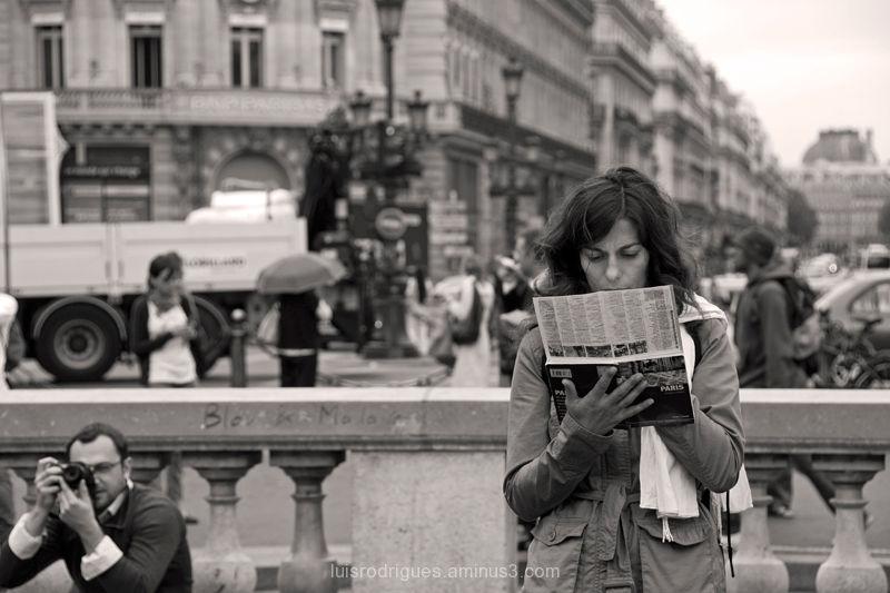 Paris France Tourist