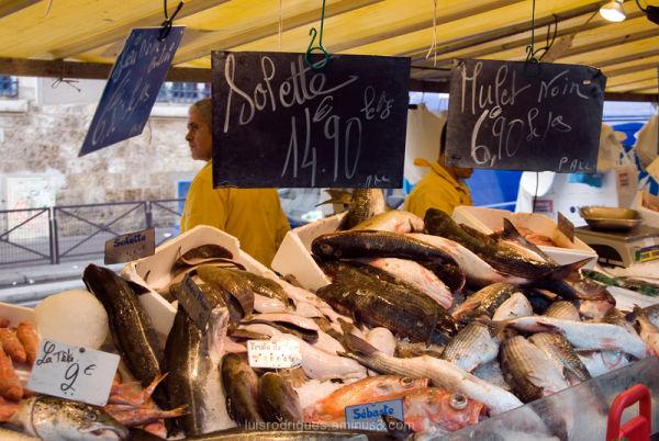 Belleville Paris France Market