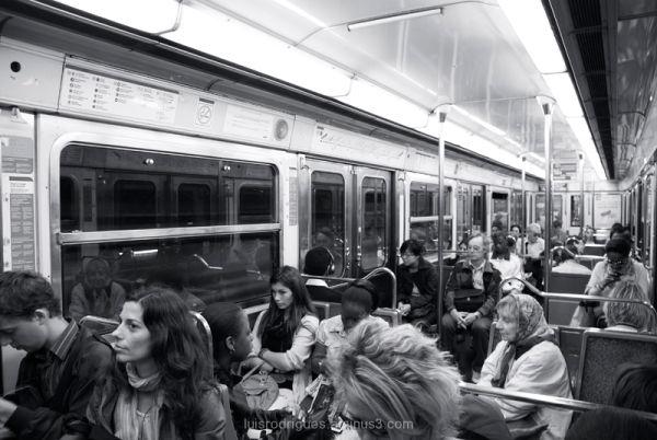 Paris France Metro
