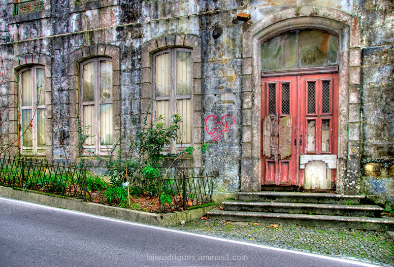 Sintra Portugal Old House