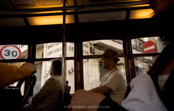 Tram Lisbon Portugal
