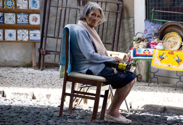 Lisbon Portugal Lisboa People Solitude