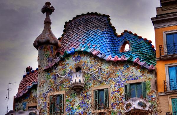 Casa Batllo Barcelona Gaudi Passeig de Grácia