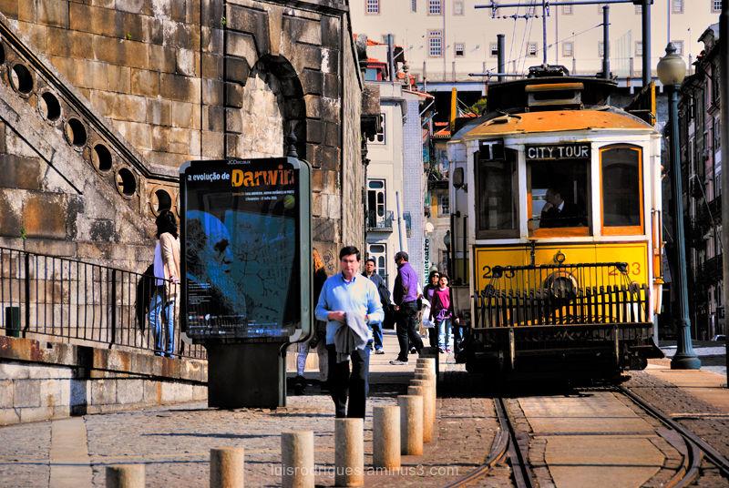Porto Portugal Tram