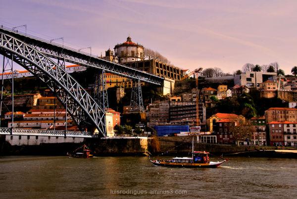 Oporto Portugal wine boat