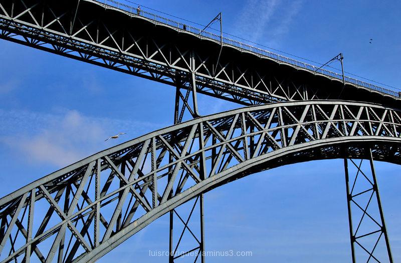 Dom Luís Bridge Porto Portugal
