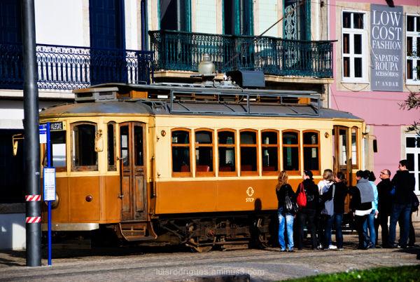 Oporto Portugal Tram