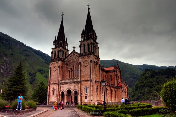 Spain Astúrias Covadonga Our Lady of Covadonga