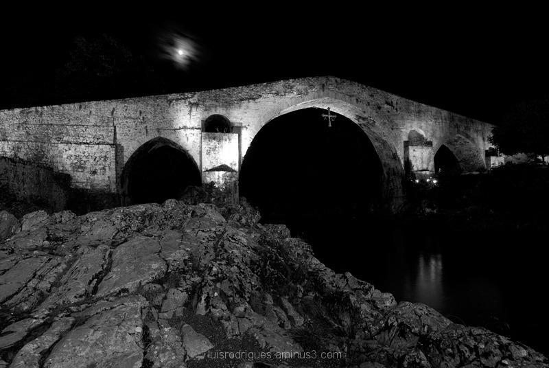 Spain Astúrias Cangas de Onís Roman Bridge