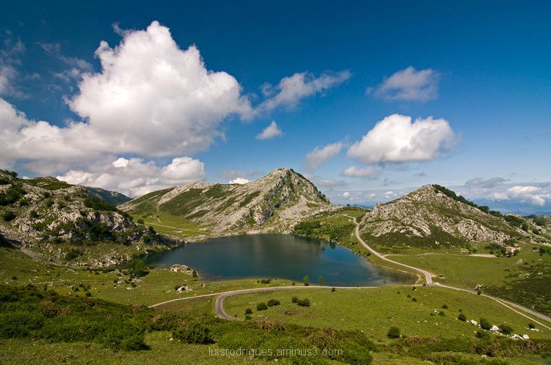 Lakes of Covadonga Enol Spain Peaks of Europe
