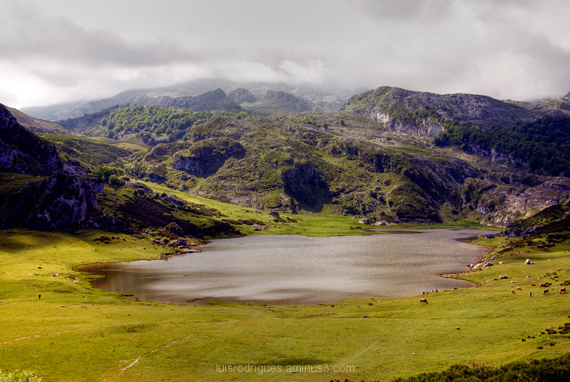 Lakes of Covadonga Ercina Spain Peaks of Europe