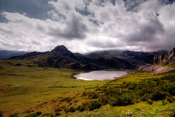 Lakes of Covadonga Ercina Spain Peaks of Europe