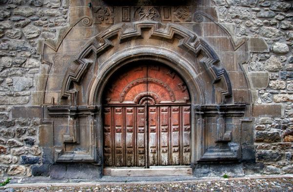 Potes Spain Door