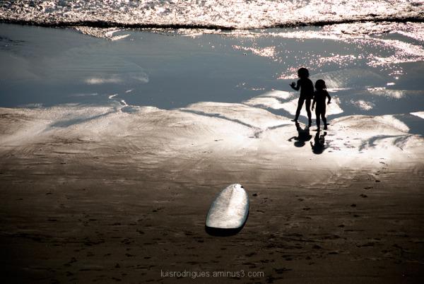 Surfers Child Future Beach