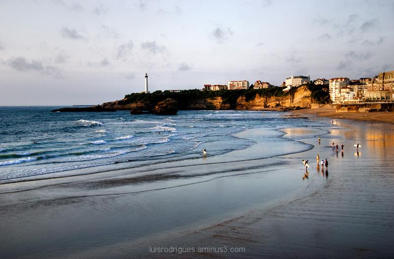 Biarritz France Beach View