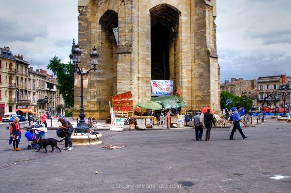 Place des Indignées Bordeaux France