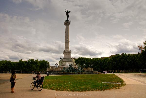 Place des Quinconces Bordeaux France