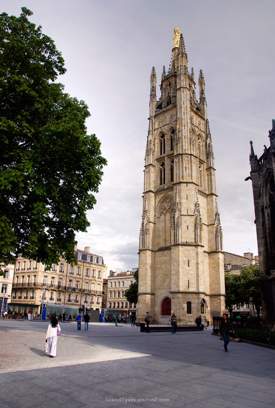 Basilica of St. Michael, Bordeaux Bell Tower