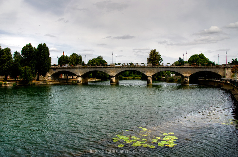 River Charente Cognac France