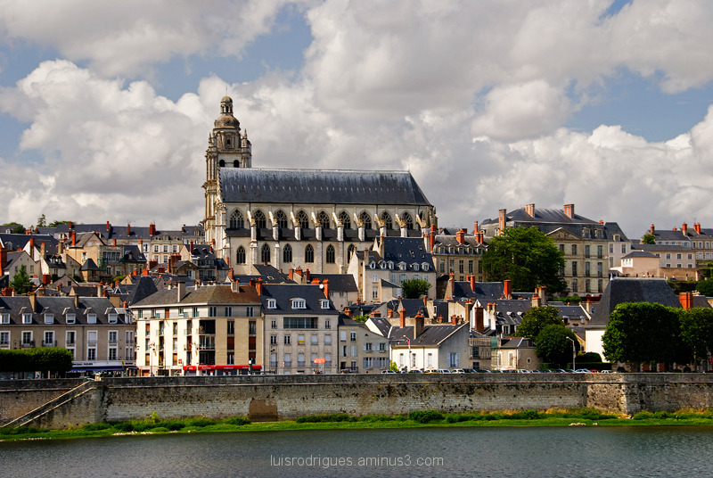 Loire River Blois France
