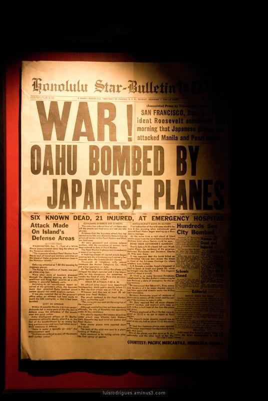 Newspaper World War II Pearl Harbor