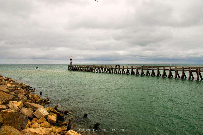 Juno Beach Normandy France Pier