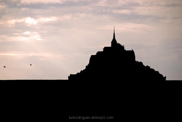 mont saint michel france normandy