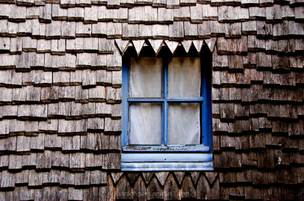 Mont Saint Michel Window