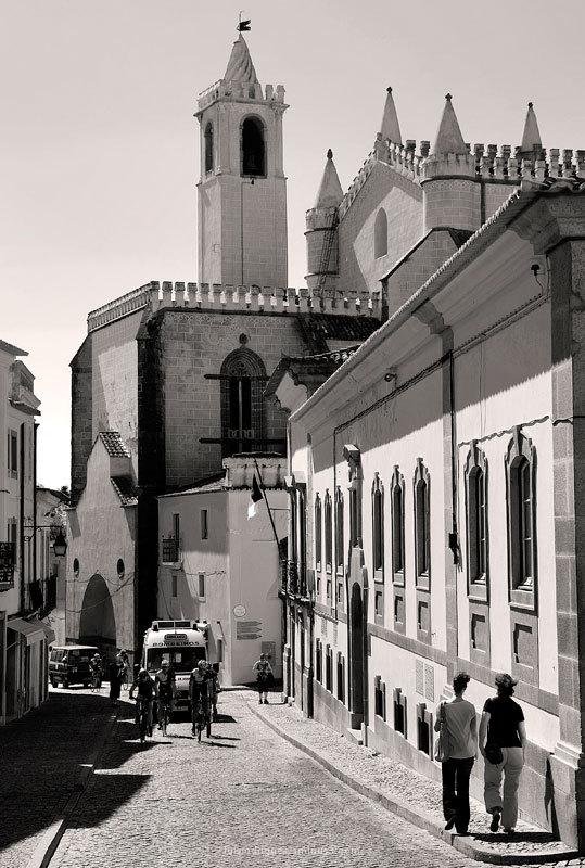 Evora Portugal Street