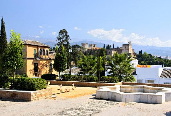 Views of Alhambra Spain Granada
