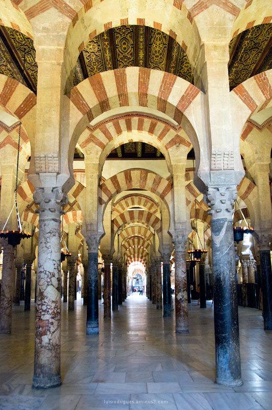 Inside Cordoba Cathedral