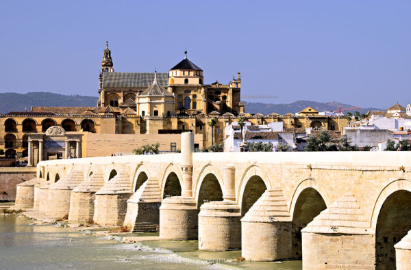 cordoba spain Cathedral Roman Bridge