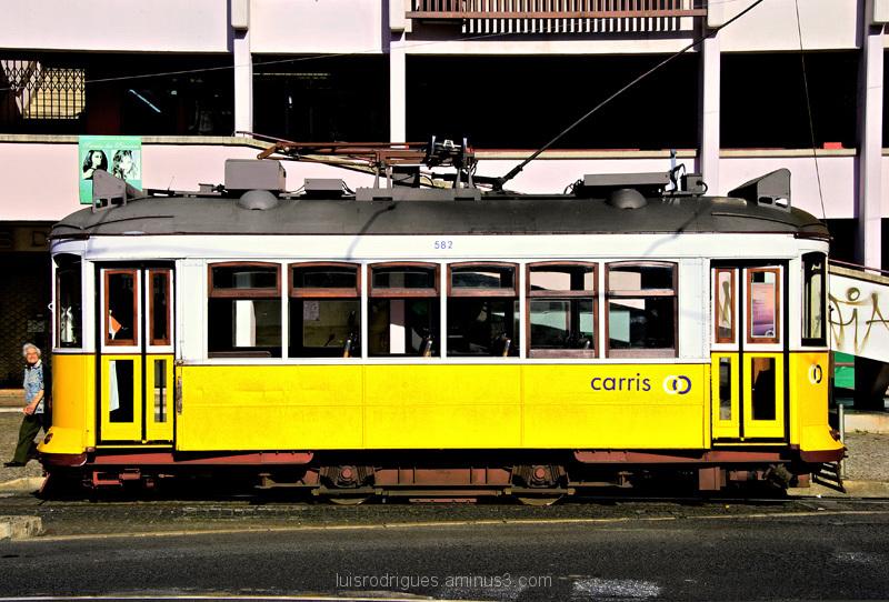 Lisbon Old Tram
