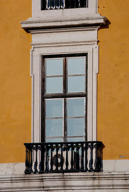 Lisbon Portugal Terreiro do Paço Window