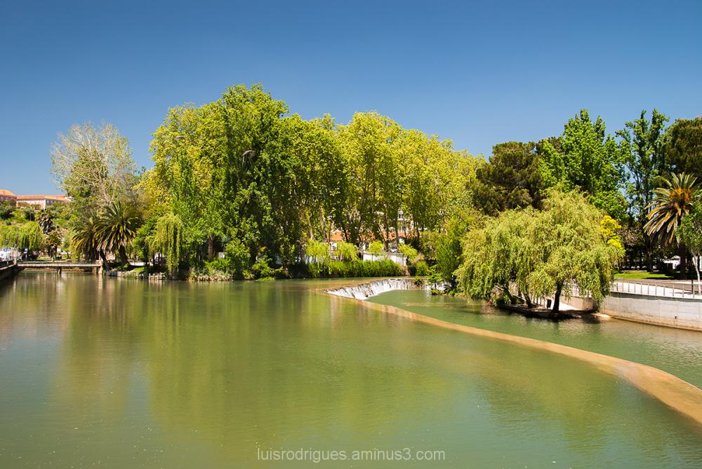 Tomar Portugal River Nabão