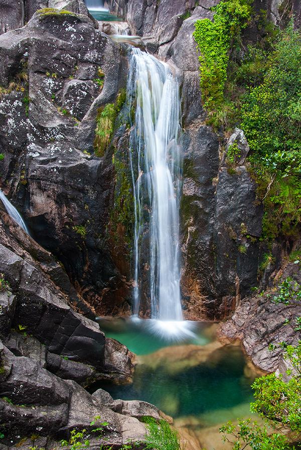 Portugal Geres Nature Water Green Arado