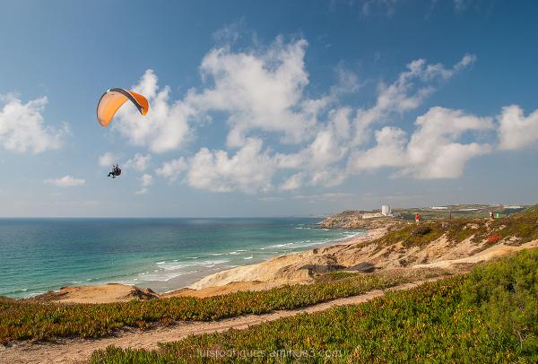 Paragliding Santa Rita Beach Portugal