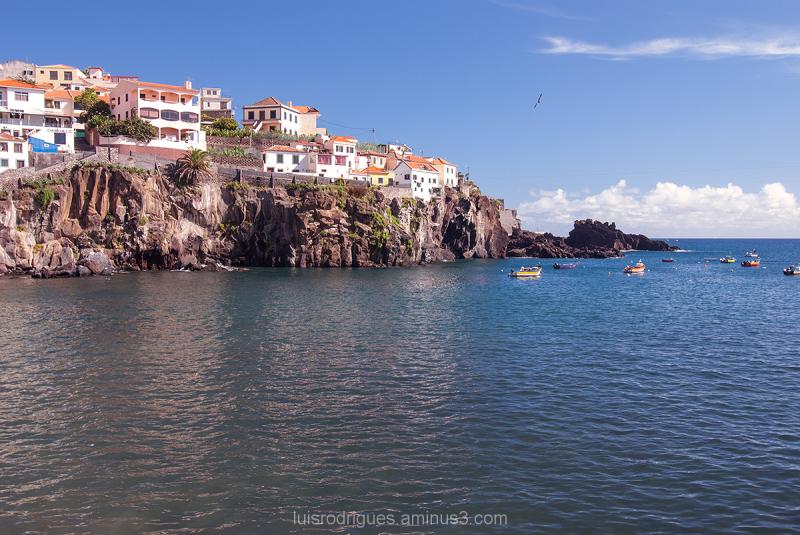 Camara de Lobos Madeira Island Portugal Boats