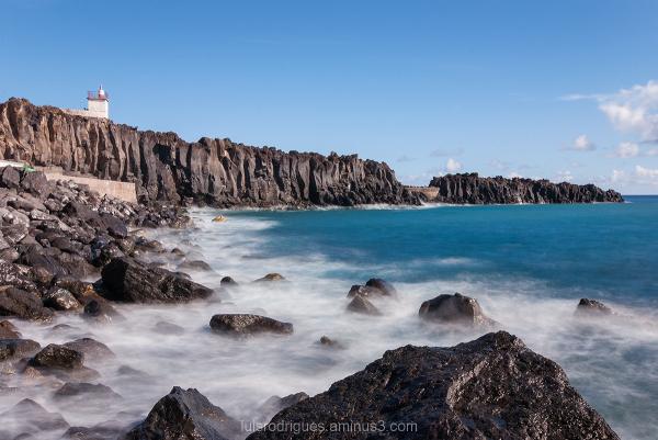 Camara de Lobos Madeira Island Portugal Rock