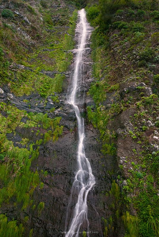 São Vicente Madeira Waterfall